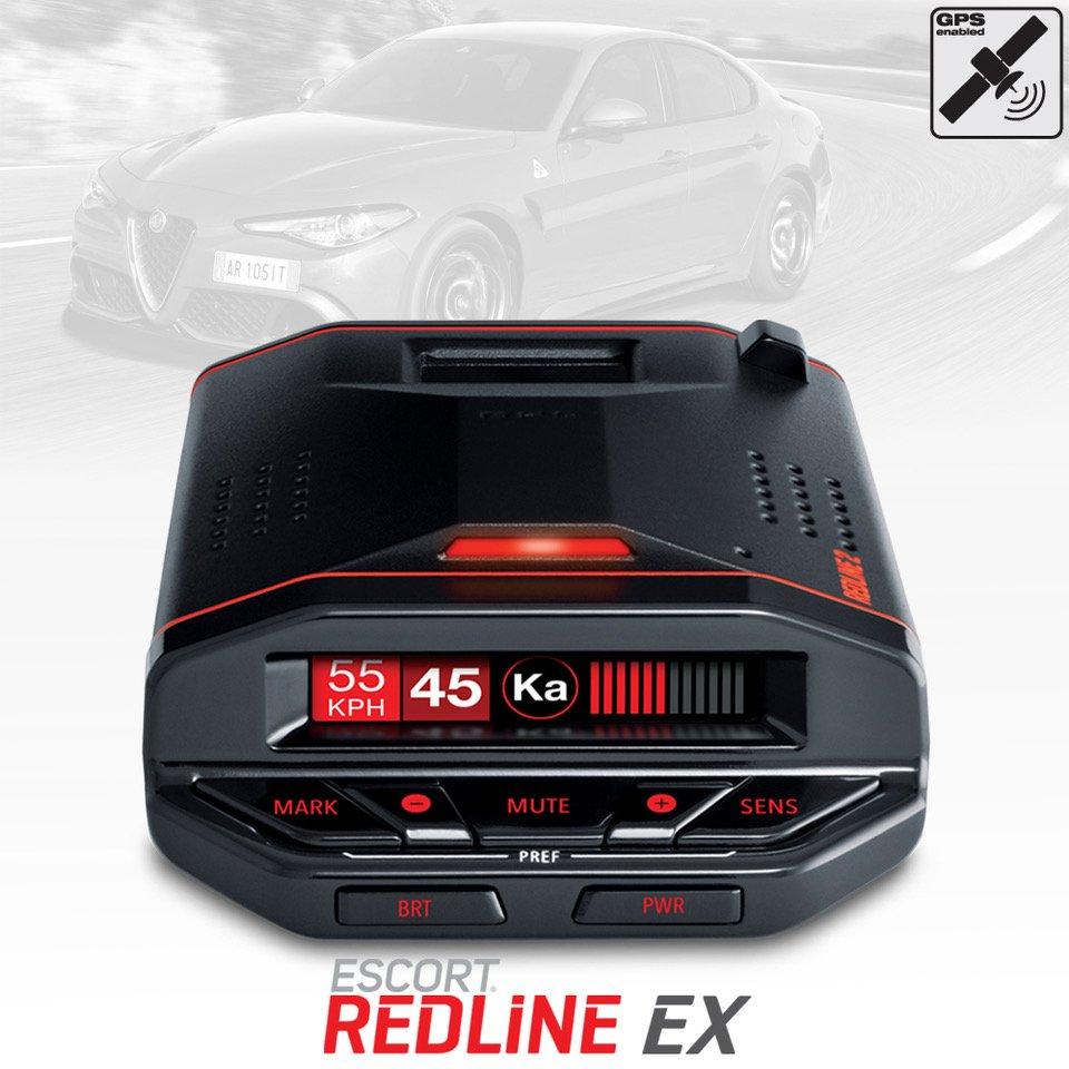 Escort Radar Detector >> New Escort Redline Ex